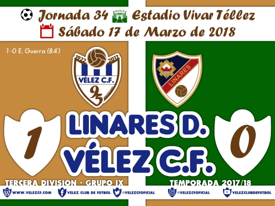 vs linares j34 Resultado TERCERA 95 Liga