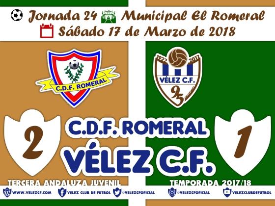 vs romeral j24 Resultado JUVENIL 95 Liga