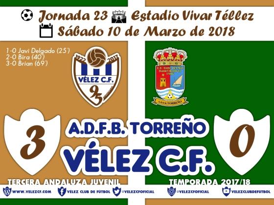 vs torreño j23 Resultado JUVENIL 95 Liga