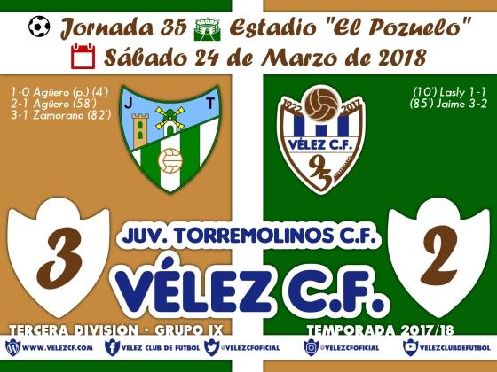 vs torremolinos j35 Resultado TERCERA 95 Liga
