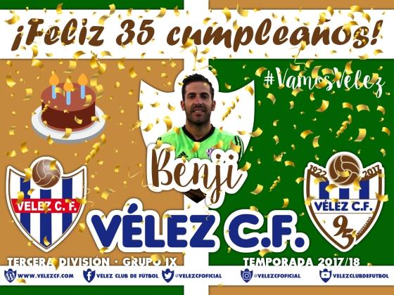 Feliz cumpleaños Vélez Benji TERCERA 95