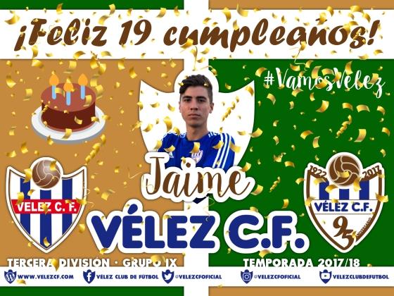 Feliz cumpleaños Vélez Jaime TERCERA 95