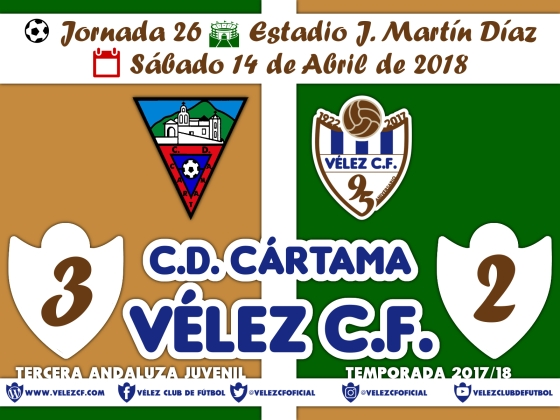 vs cartama j26 Resultado JUVENIL 95 Liga