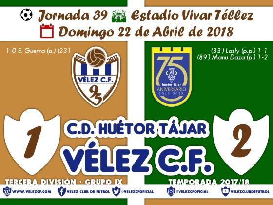 vs huetortajar j39 Resultado TERCERA 95 Liga