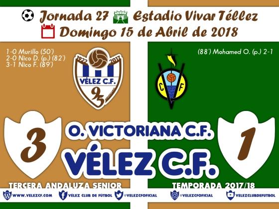 vs olimpica j27 Resultado FILIAL 95 Liga
