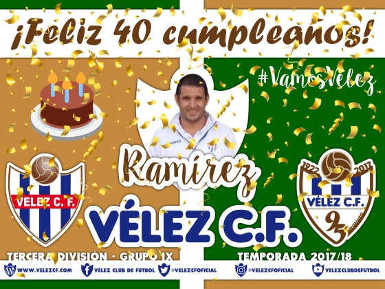 Feliz cumpleaños Vélez Ramirez TERCERA 95