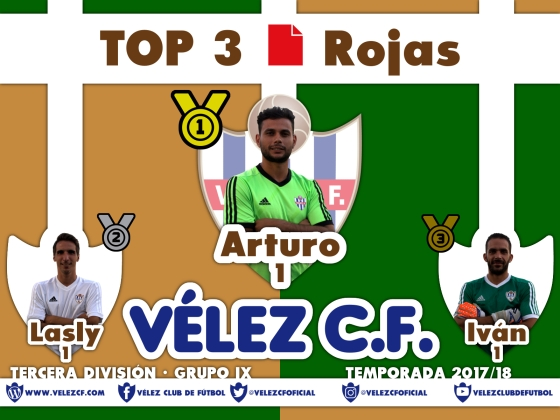 TOP 3 TERCERA 95 rojas
