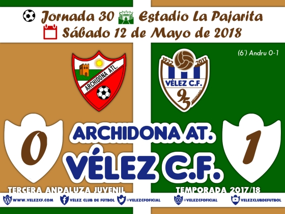 vs archidona j30 Resultado JUVENIL 95 Liga