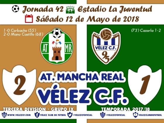 vs mancha real j42 Resultado TERCERA 95 Liga