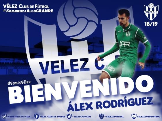 BIENVENIDO Álex Rodríguez VELEZ CF K