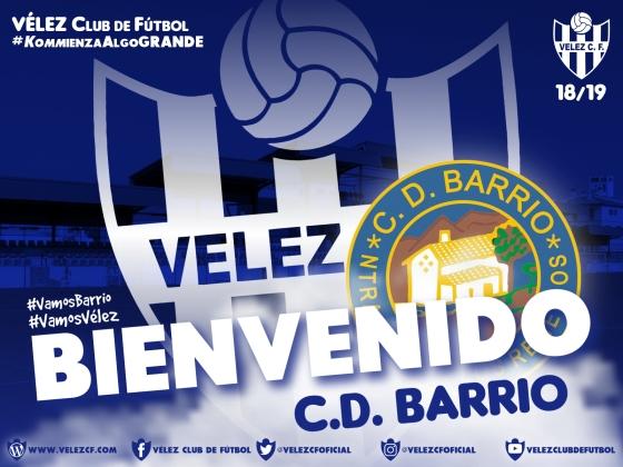 BIENVENIDO CD Barrio VELEZ CF K