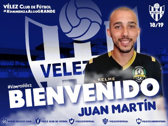 BIENVENIDO Juan Martín VELEZ CF K