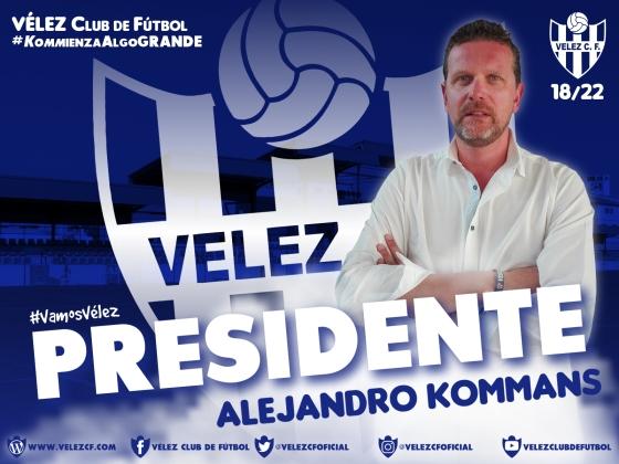 PRESIDENTE Alejandro Kommans VELEZ CF K