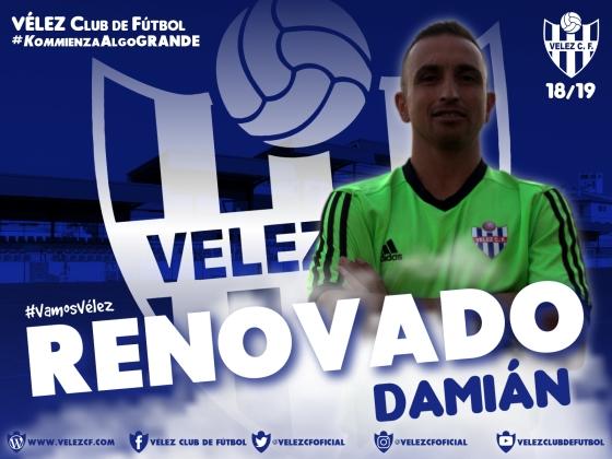 RENOVADO Damián VELEZ CF K