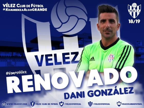 RENOVADO Dani González VELEZ CF K