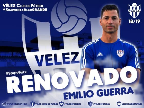 RENOVADO Emilio Guerra VELEZ CF K