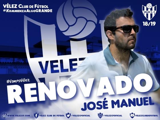 RENOVADO José Manuel VELEZ CF K