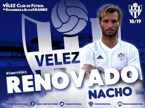 RENOVADO Nacho VELEZ CF K