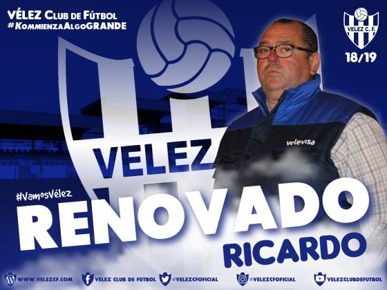 RENOVADO Ricardo VELEZ CF K