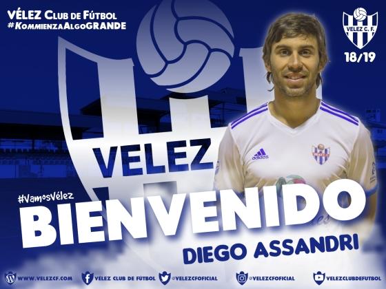 BIENVENIDO Diego Assandri VELEZ CF K