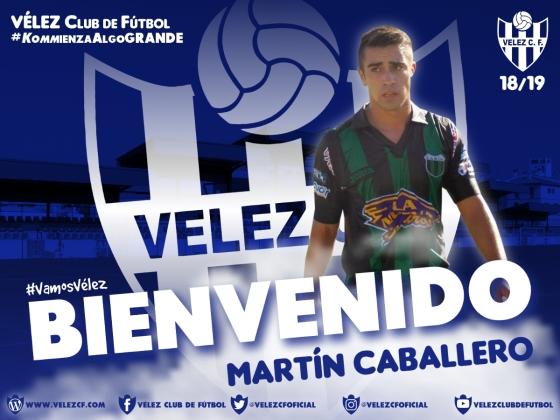 BIENVENIDO Martín Caballero VELEZ CF K