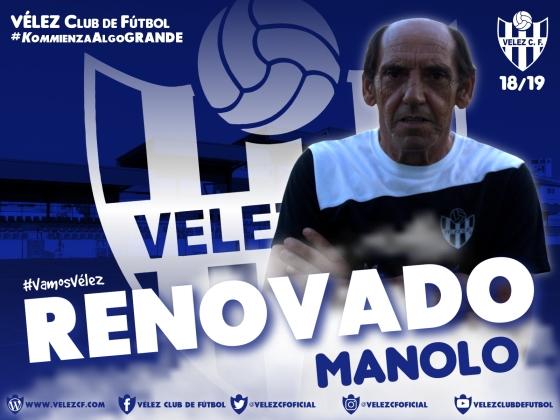 RENOVADO Manolo VELEZ CF K