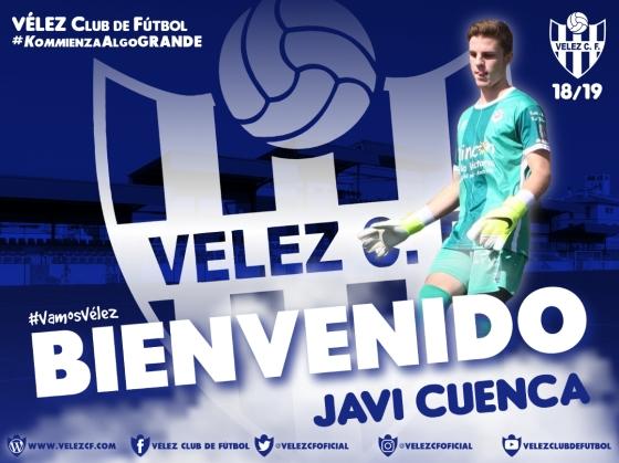 BIENVENIDO Javi Cuenca VELEZ CF K