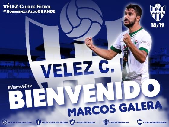 BIENVENIDO Marcos Galera VELEZ CF K