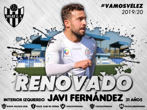 RENOVADO Javi Fernández 20